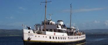 MV Balmoral Bound for the Clyde