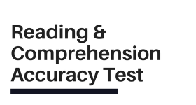 cabin crew reading and comprehension accuracy test