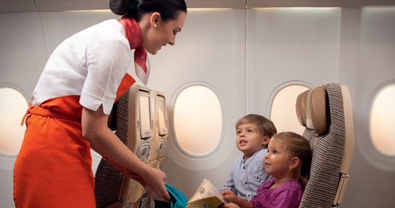 Etihad Airways Now Has 2,000 Flying Nanny's to Provide a Helping Hand
