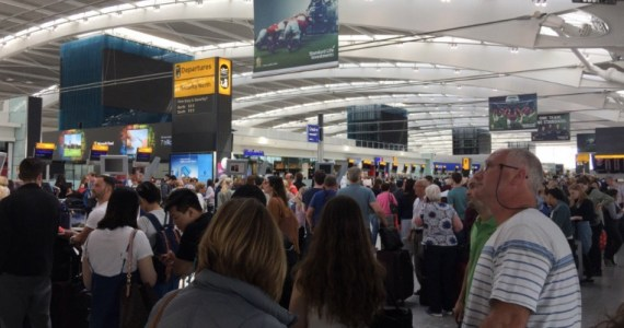 British Airways Forced to GROUND All Aircraft Worldwide as 'Power Surge' Leads to Computer Outage