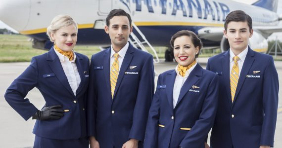 Ryanair Increases Ancillary Revenue by Getting Cabin Crew to Hard Sell - Introduces Tough Sales Targets