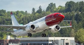 Norwegian Gets It's First Boeing 737MAX for Low-Cost Transatlantic Flights