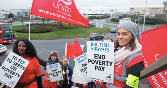 British Airways Cabin Crew Set for Another 14 Day Strike - But How Are They Affording It?