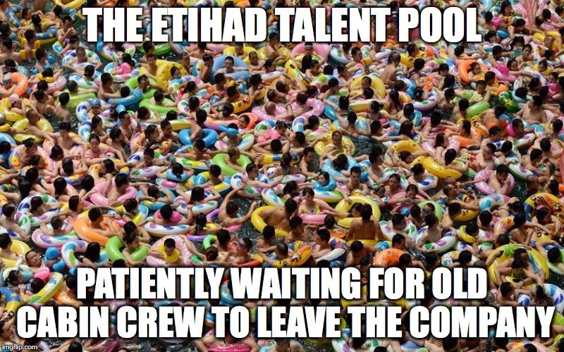 The Etihad talen poolThe Etihad talent pool