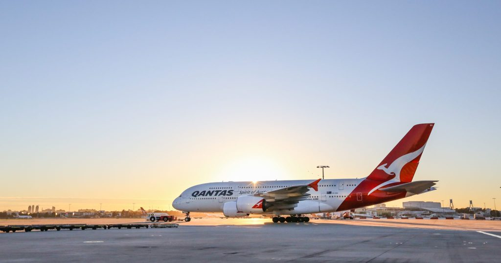 Qantas will extend its partnership with Emirates but switch its stopover base from Dubai to Singapore. Photo Credit: Qantas