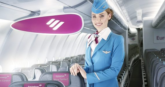 Eurowings is Hiring: 600 New Cabin Crew and Pilot Jobs - And Temporary Contracts Are Being Made Permanent