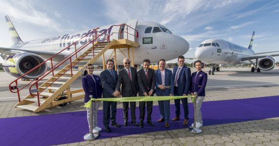 Flyadeal, Saudi Arabia's New Airline Takes Delivery of First Aircraft: Still Recruiting New Cabin Crew