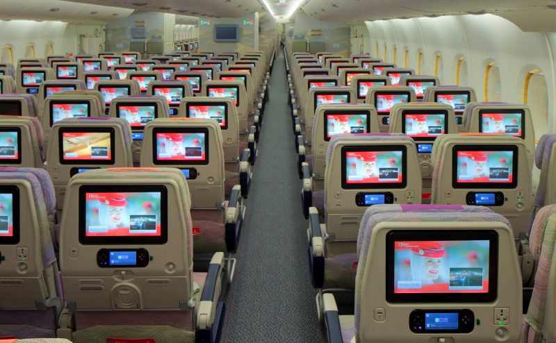 Some Emirates cabin crew working in Business and First Class will soon find out if they have been downgraded a cabin. Selected cabin crew will have to work in the loweer cabin for a month at a time. Photo Credit: Emirates