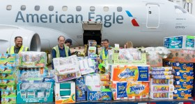 American Airlines Rescues Employees, Sends Help to Houston. Flight Attendant's Union Presses AA for More Support