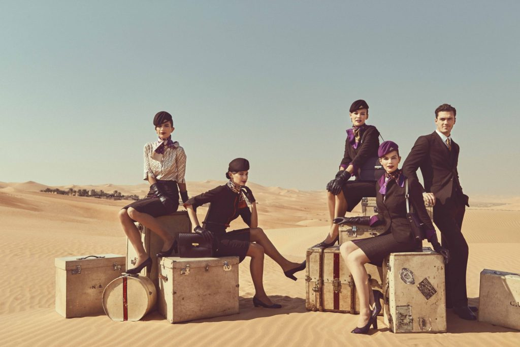 And now Etihad's 'award-winning' cabin crew are coming in for criticism. Photo Credit: Etihad
