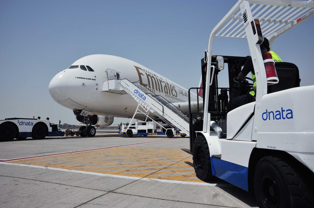 The Emirates group also includes dnata - a massive global aviation servicing company. Photo Credit: Emirates