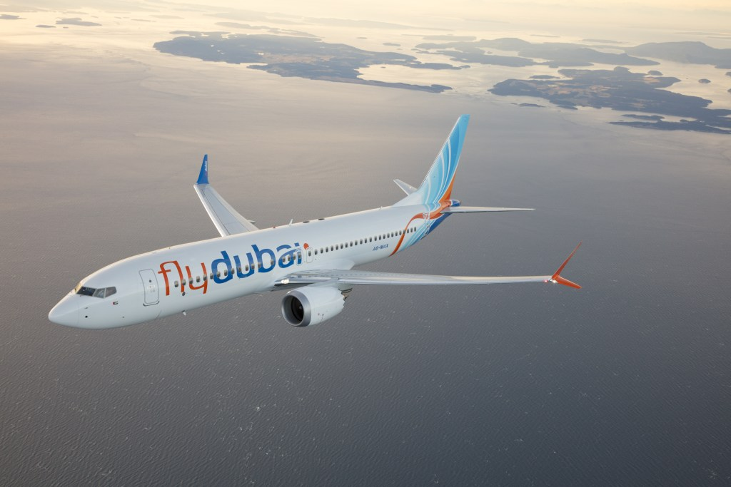 flydubai's first Boeing 737MAX aircraft bears the registration, A6-MAX - the airline has a total of 76 of the aircraft on order. Photo Credit: flydubai