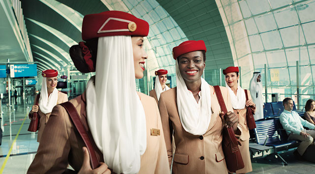 Emirates once had over 20,000 cabin crew - whether that is still the case after a near 12-month hiring freeze is unclear. Photo Credit: Emirates