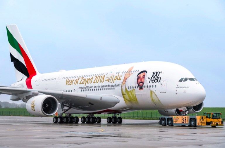 """Emirates Takes Delivery of its 100th Airbus A380 - Other Airlines """"Lack the Strength and Vision"""""""