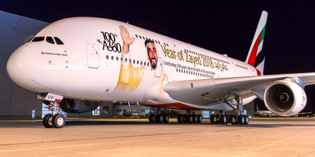 """""""We remain committed to the programme and will work closely with Airbus and our partners to continually enhance our A380 product as we look ahead to receiving our remaining 42 aircraft on order."""" - Sheikh Ahmed bin Saeed Al-Maktoum"""