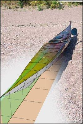 Iggy kayak design. Anas Acuta.