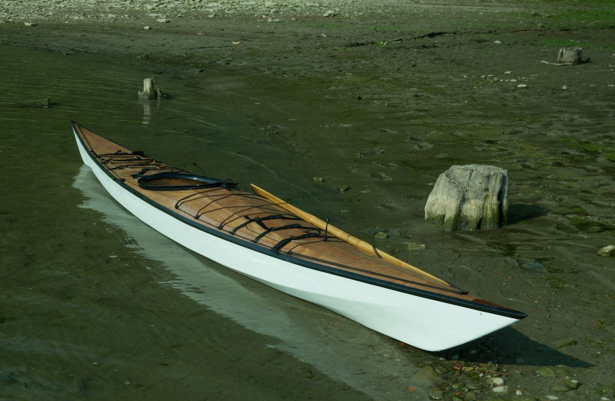 Siskiwit Bay Multi Chined Kayak Plans For Plywood Building