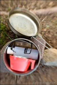 Penny stove cook kit