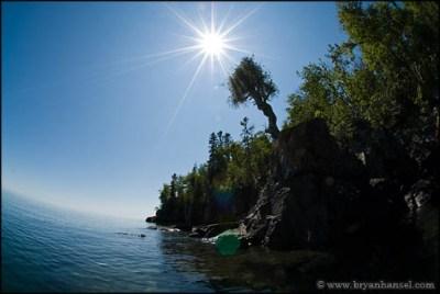 The Witch Tree, Manido Gizhigans, Spirit Little Cedar Tree in Grand Portage, MN