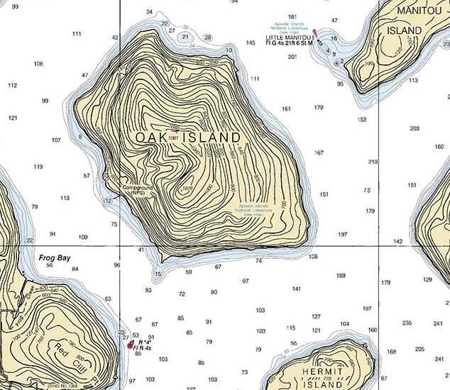 NOAA Marine Chart