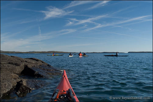 Looking across the crossing to Susie Islands.