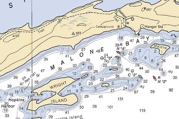 Where Is The Hump Bowen Island Navigational Chart