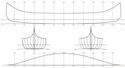 Tetes De Boule Figure 104 Linesplan