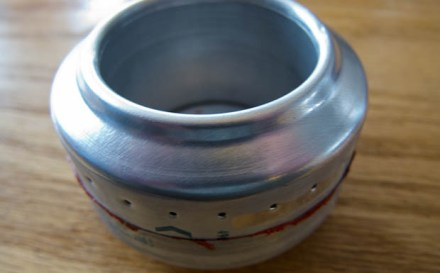Basic lightweight sideburner pop can stove