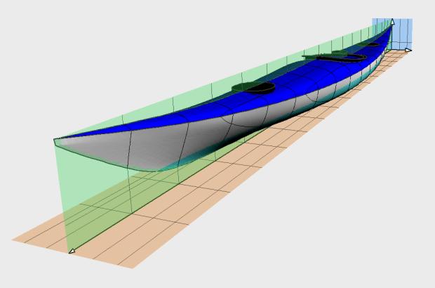 Siskiwit LV sea kayak