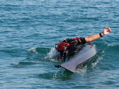 Practice rolling to improve your kayaking skills