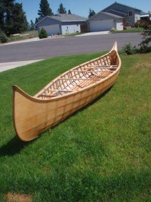 1910 St. Francis canoe