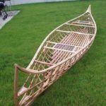 1910 St. Francis Skin-on-frame canoe