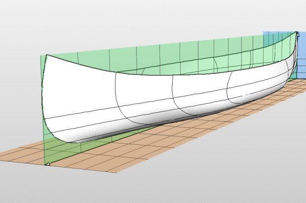 Chestnut Chum canoe computer model