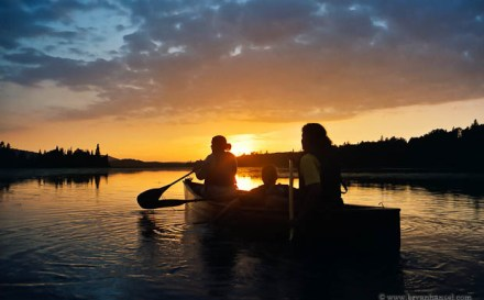 Canoeing in the BWCA
