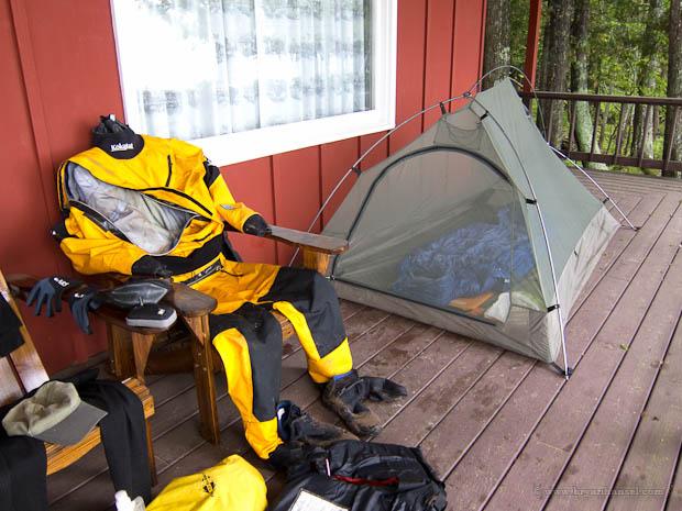 kokatat dry suit ready to go