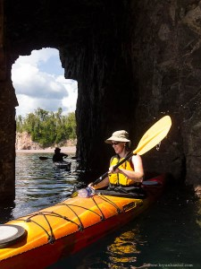 Cave of Waves, Tettegouche State Park Kayaking
