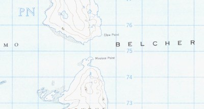 Belcher Islands claw point