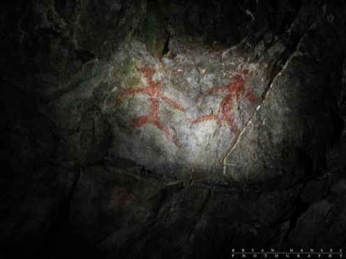 The cave paintings. These are suppose to be the oldest paintings in the area or country or Europe or something like that.