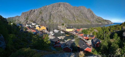 Nusfjord, a little village that we stayed in.