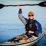 Jeremy Vore in a kayak