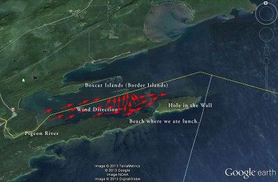 Pigeon Bay Map