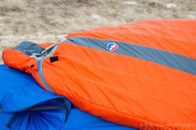 big agnes wind lip on a tent