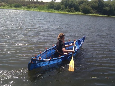 Test paddle.