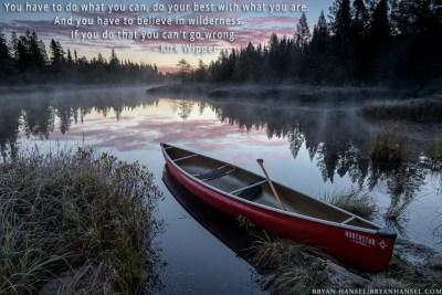 northstar phoenix canoe on a frosty river