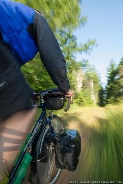 Bike Touring on Path