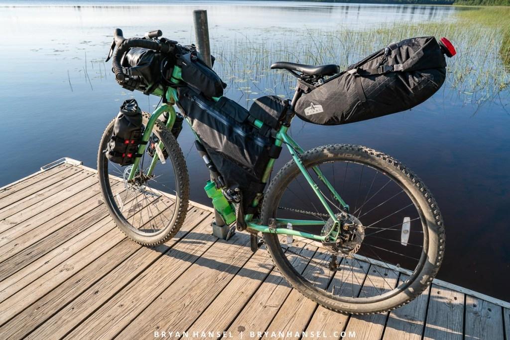 bikepacking in Minnesota