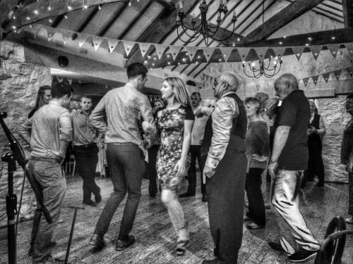 Matt and Rebecca's Wedding Ceilidh at Bickley Mill, Devon