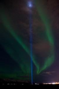 Aurora Borealis and The Peace Light