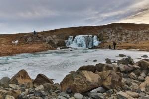 Frozen Waterfall,