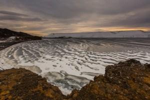 Frozen waves, Kleifarvatn
